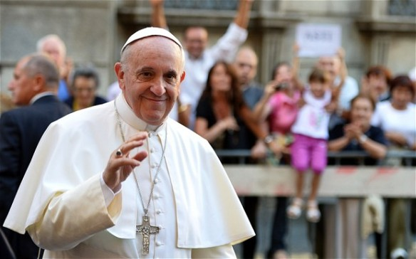 Pope Francis told the student to address him as 'tu' rather than use the much more formal 'lei' during the conversation