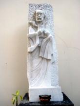 A statue of St. Ignatius