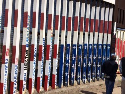 A mural in Tijuana displays the names of veterans who were deported from the United States despite service to the nation.