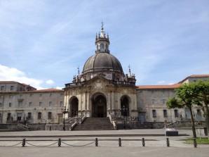 The Sanctuary of Ignatius of Loyola, in Azpeitia.