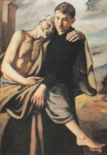 St. Aloysius Gonzaga died when he was only 23, either from exhaustion or by catching a disease from the people that he ministered to.