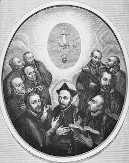 St. Ignatius and his original companions were the first to answer God's call and serve him as Jesuits.