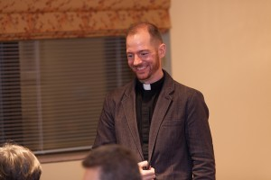 Ryan Duns, SJ, of the Midwest Province.
