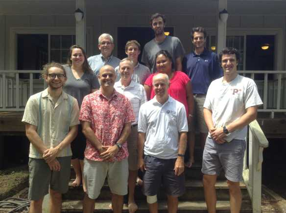 Fr. David Ciancimino, SJ, former provincial of the New York Province (now part of the USA Northeast Province) recently visited Yap Catholic High School (YCHS) in Micronesia and led the annual faculty retreat. By leading the faculty through reflection and prayer, Fr. Ciancimino, helped faculty members to see God's presence in their own individual lives and also in the life of the school. Fr. Ciancimino was responsible for missioning two Jesuits to Micronesia in 2011 to start a Catholic high school on Yap. Within five weeks, YCHS opened for its first freshman and sophomore classes.